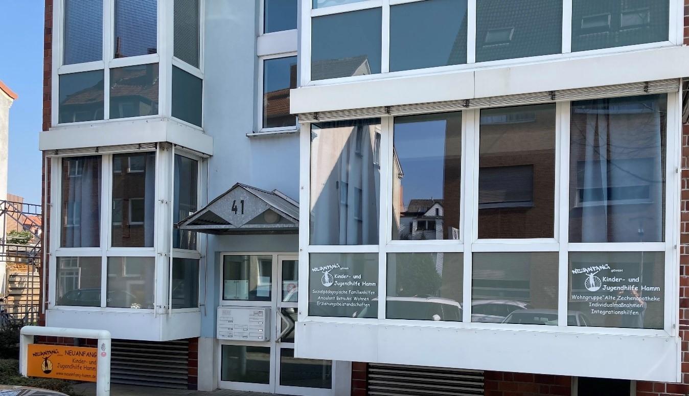 Geschäftsstelle der Neuanfang gGmbH an der Sedanstraße 41 in 59065 Hamm